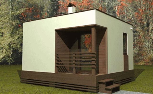 Как построить баню из СИП-панелей?