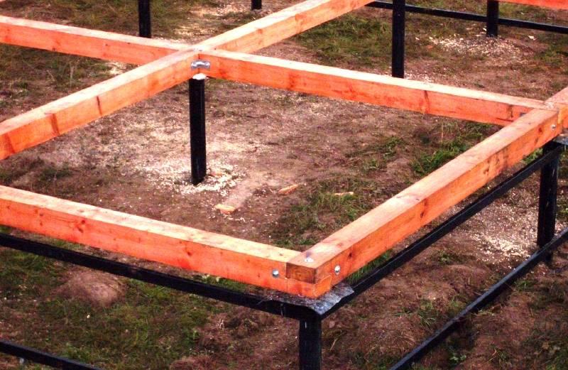 Обвязка свайно-винтового фундамента швеллером: как проводится, какова цена работ по скреплению винтовых свай?