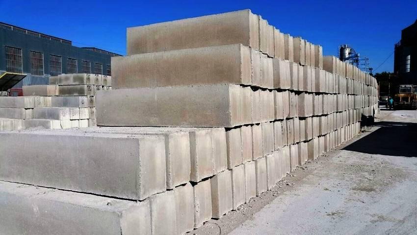 Бетонные блоки стеновые: для наружных стен, подвала