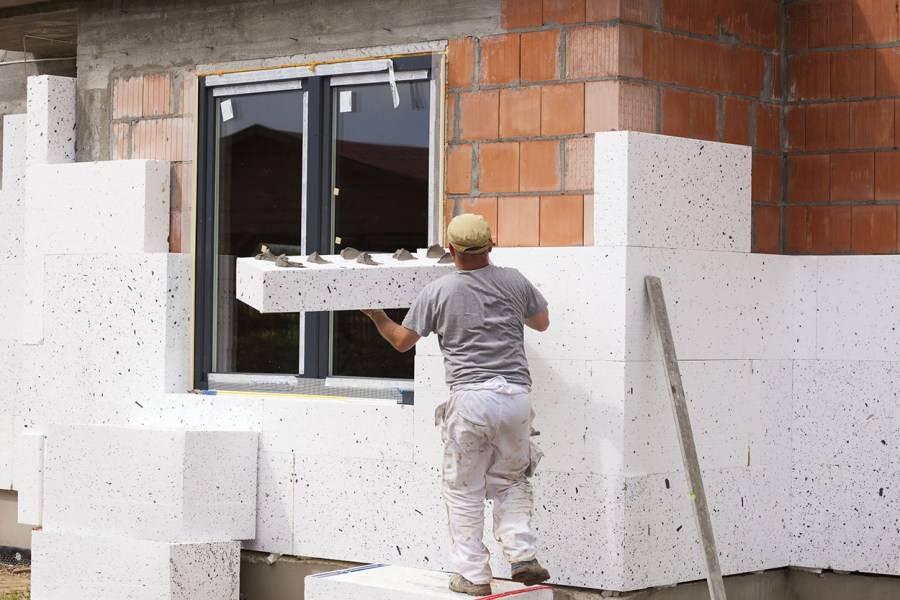 Утепление фасада пенопластом: выбираем пенопласт | o-builder.ru