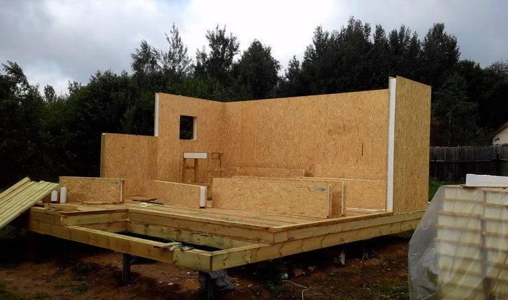 Баня из сип панелей: все плюсы и минусы данного проекта