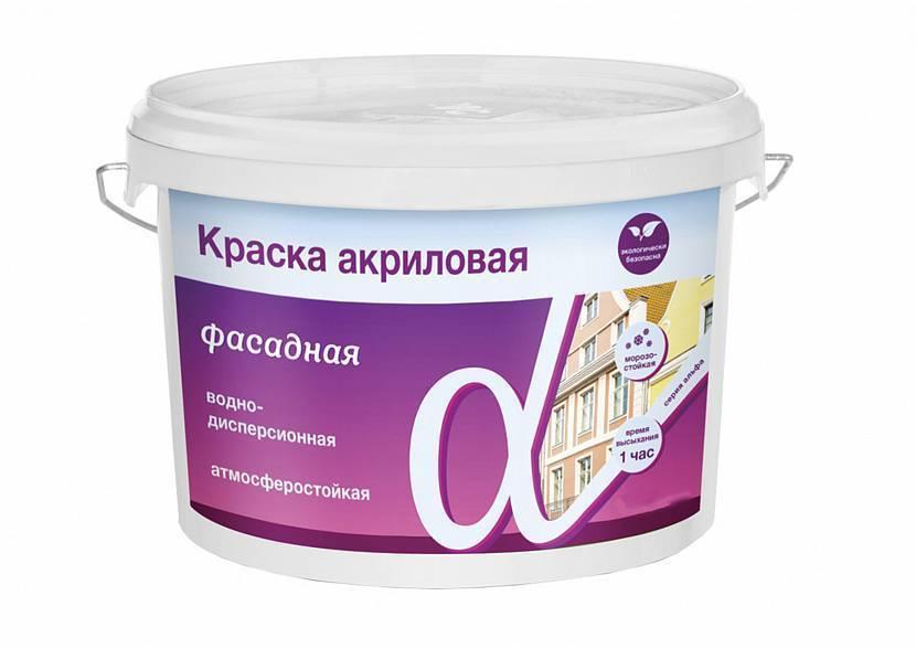 Акриловая вододисперсионная краска: характеристики, применение
