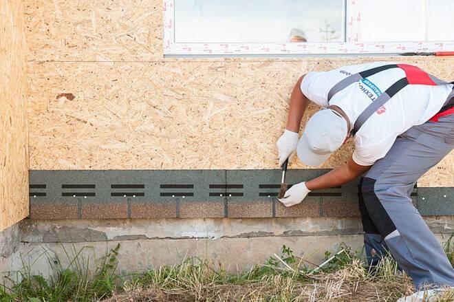 Чем фасадная плитка технониколь hauberk (хауберк) выделяется среди конкурентов + инструкция по монтажу