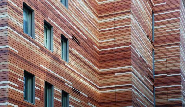 Популярные виды фасадных панелей: Ю пласт, Доломит, террактовый Wandstein и облицовка с мраморной крошкой