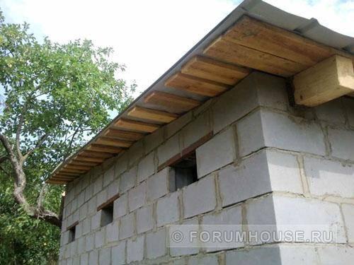 Как построить и утеплить баню из шлакоблоков: поэтапный план работ и фото
