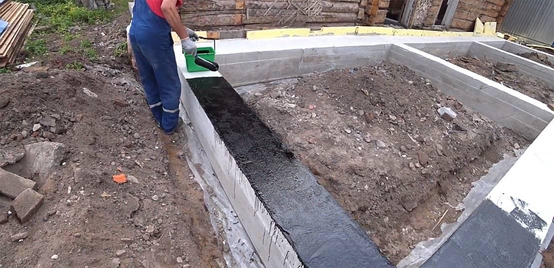 Гидроизоляция цоколя снаружи: как сделать, технология и порядок работ, материалы