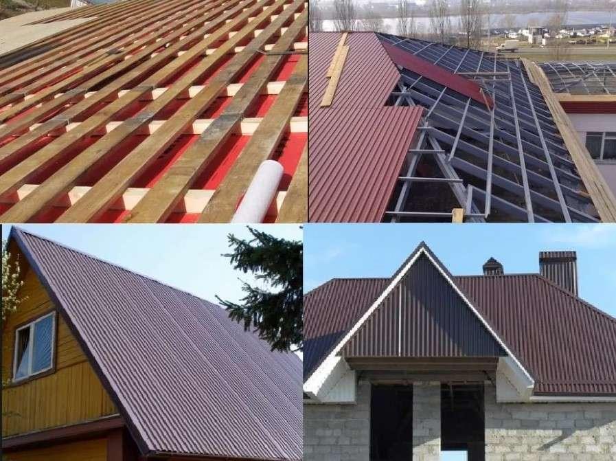 Как покрыть крышу профнастилом своими руками пошаговая инструкция