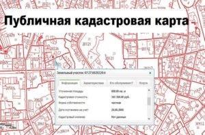 Почему нет участка на публичной кадастровой карте?