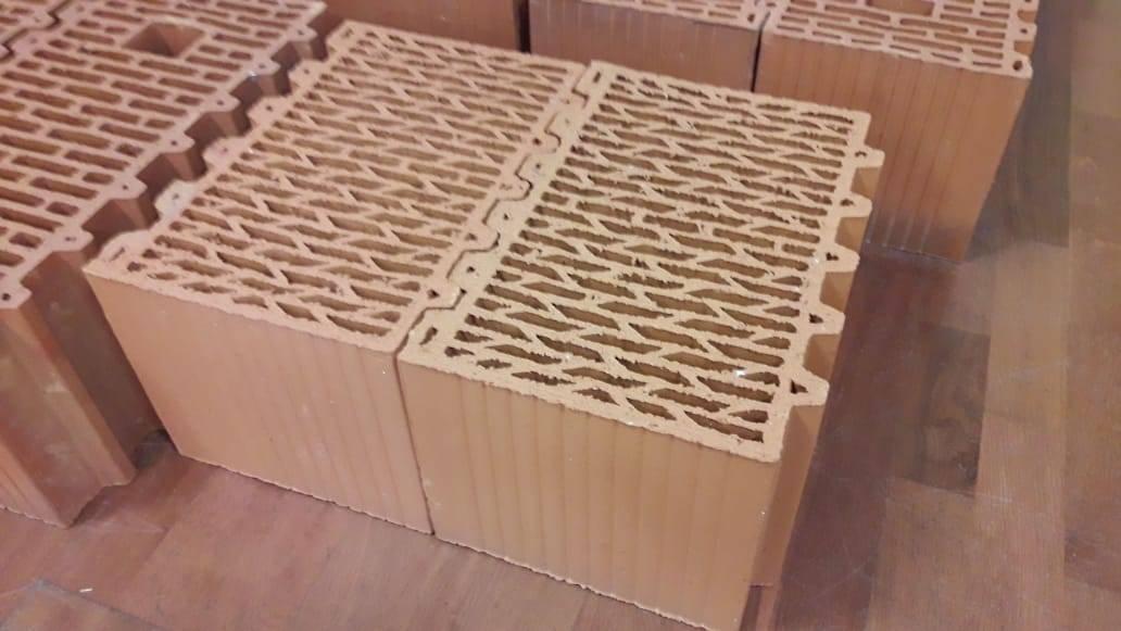Теплые стены из керамических блоков porotherm
