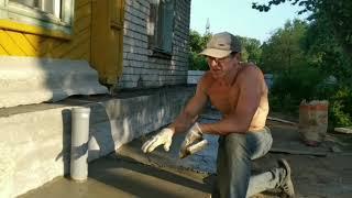 Как покрасить бетонную стену: основные этапы работы