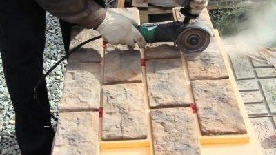 Искусственный камень своими руками - состав, формы, изготовление