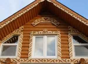 Как рассчитать фронтон – определение площади, высоты, материала