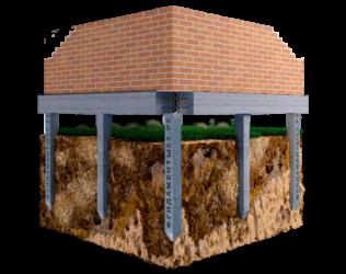 Способ возведения свайно-ростверкового фундамента для дома из газобетона: устройство + достоинства и недостатки