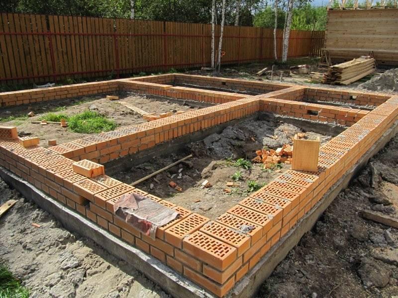 Сооружение фундамента под теплицу: пошаговая инструкция