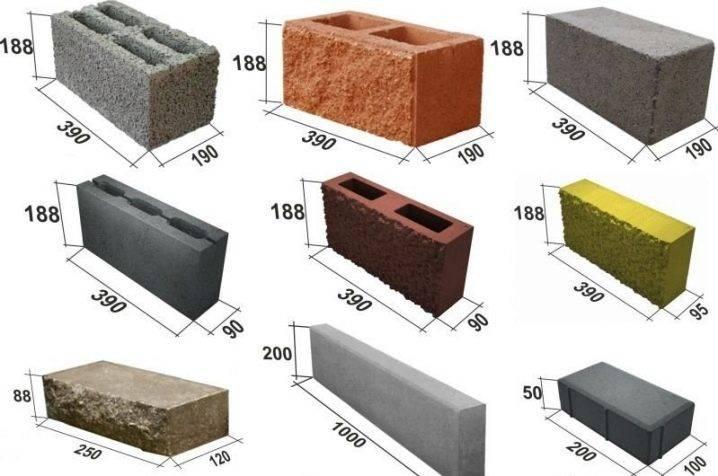 Расчет шлакоблока на строительство дома
