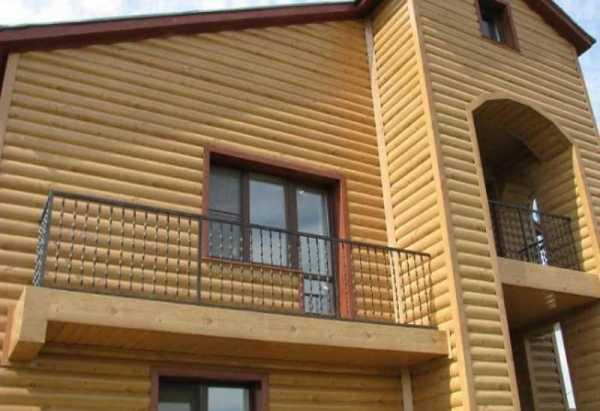 Фото вариантов отделки домов блок-хаусом