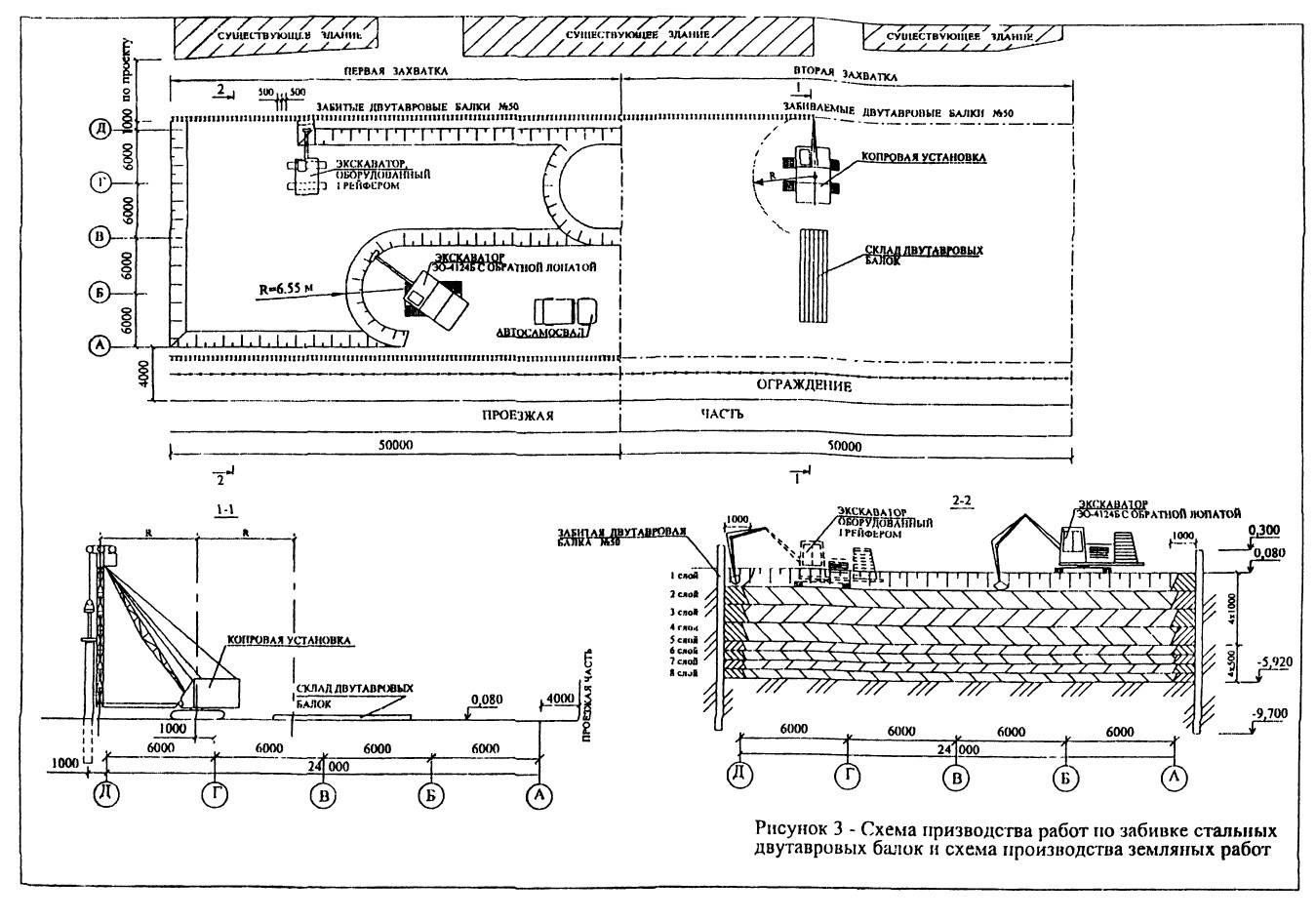 Шпунтовые ограждения: разновидности, способы погружения, установка