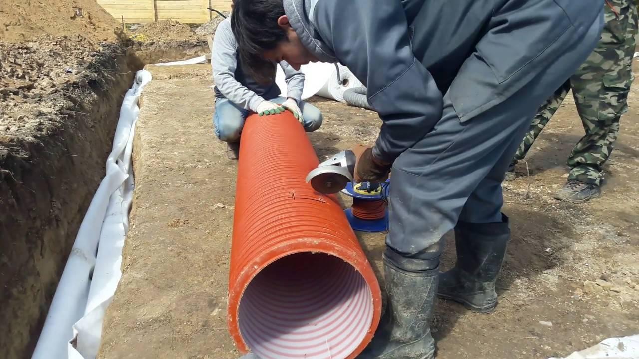 Правила обустройства канализации под фундаментной плитой