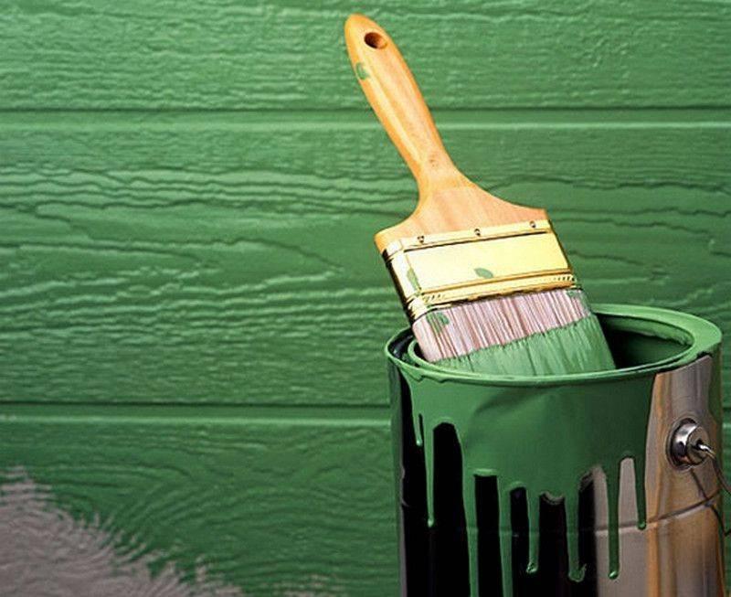 Краска окраски фасада, правила подбора и нанесения на поверхность