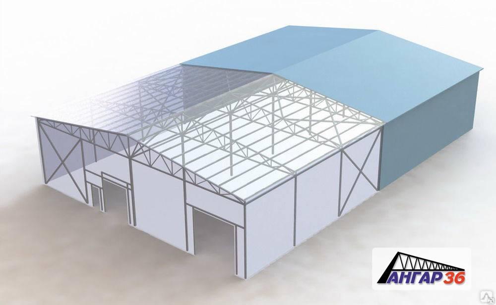 Строительство ангаров | ангары из металлоконструкций в спб строим под ключ!