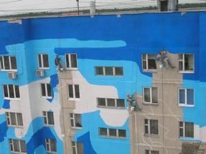 Храктеристики и применение краски хв-161 для фасадов