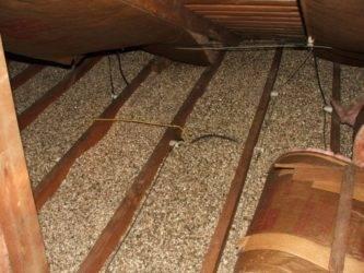 Утепление крыши керамзитом и правильная толщина слоя