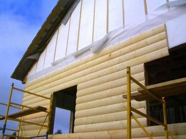 Обрешетка под блок хаус своими руками. способы крепления панелей к фасаду и как правильно крепить блок-хаус к стене частного дома