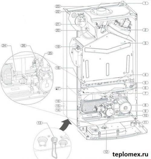 Газовый котел buderus logamax u072 35k: инструкция по эксплуатации, технические характеристики и отзывы владельцев