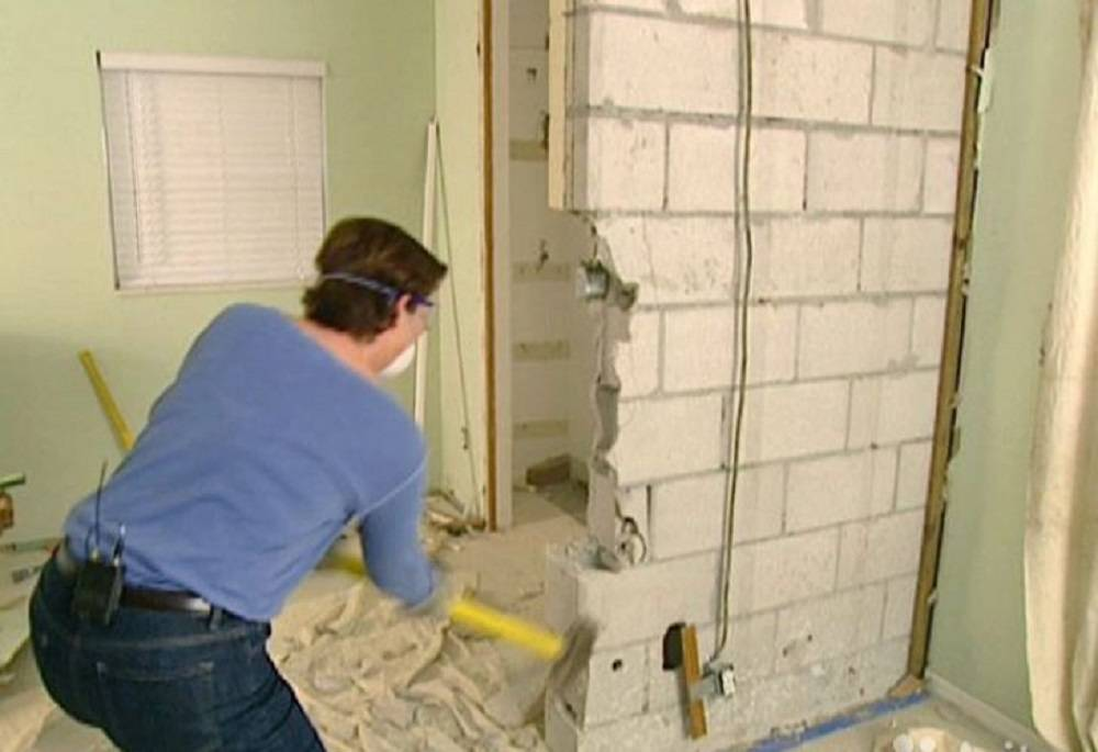 Как снести стену в квартире самому
