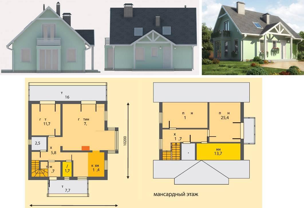 Дачный дом из шлакоблока проекты фото. дом из шлакоблока: за и против + технология изготовления материала в домашних условиях