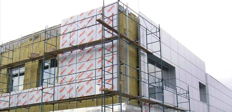 Технология облицовки при помощи композитных фасадных панелей + устройство навесного вентилируемого фасада