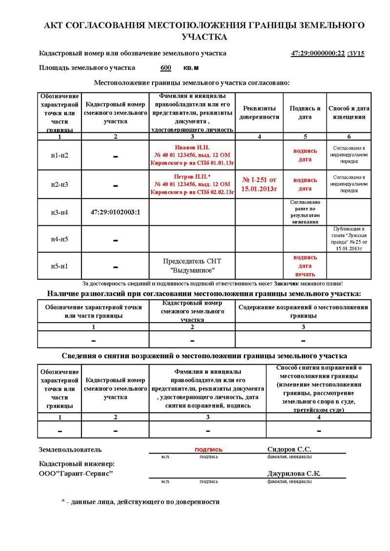 Процедура согласования границ земельного участка при межевании