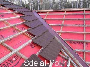 Гидроизоляция для крыши под металлочерепицу какая лучше - клуб мастеров