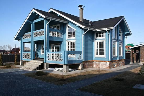 Технология покраски фасада дома