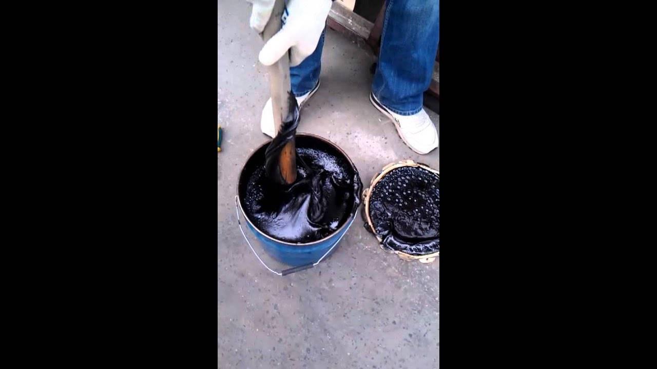 Битумная гидроизоляция: лента и материалы на рулонной основе, изоляция горячим битумом и расход праймера на м2