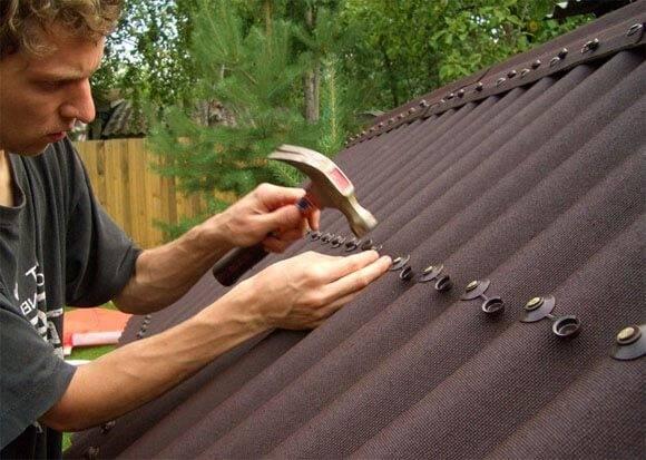 Расчет ондулина на крышу, видео инструкция по монтажу своими руками