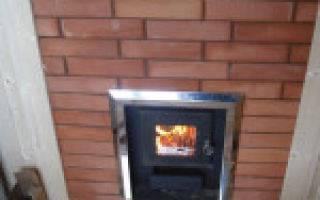 Установка печи в бане с выносной топкой: противопожарные требования к банной печи при монтаже