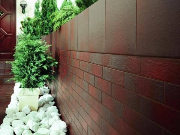 Клинкерная плитка для фасада - цена за м2 без утеплителя под кирпич