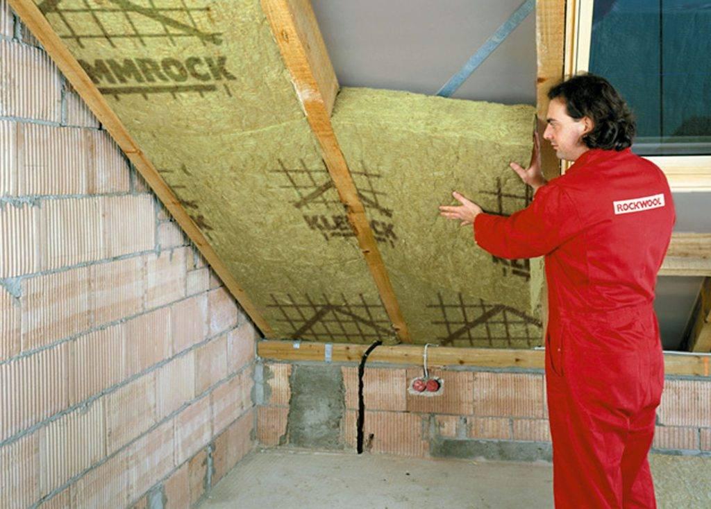 Утепление крыши дачного дома своими руками