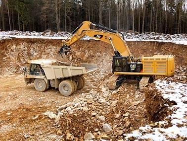 Разработка котлована в москве   рытье котлована   вывоз грунта