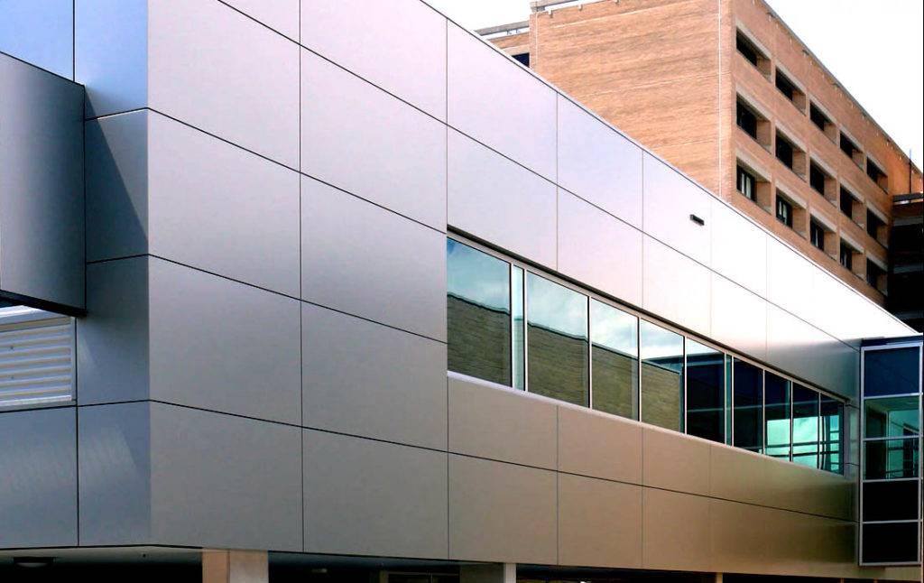 Вентилируемый фасад из композитных панелей в москве | монтаж вентилируемых фасадов из композита от «альянс-лк»