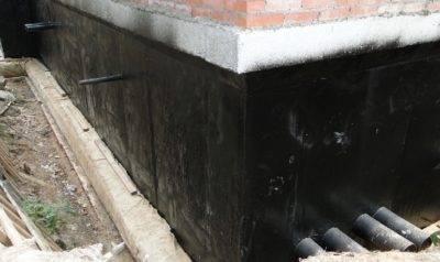 » гидроизоляция стен: пошаговая инструкция