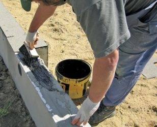 Гидроизоляция фундамента подвала: нужна ли, виды, материалы