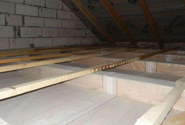 Утепление потолка керамзитом - простой способ сохранения тепла в доме