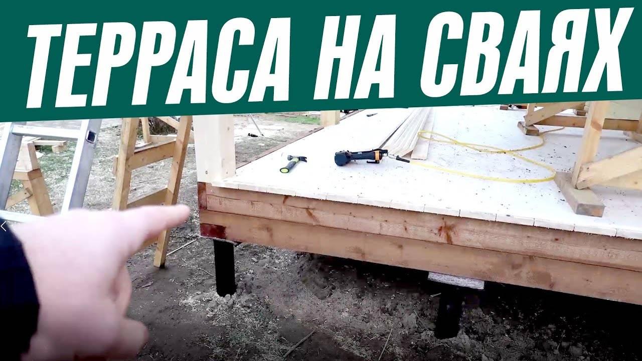 Свайно-ростверковый фундамент своими руками: с высоким и низким ростверком, свайно-ленточный