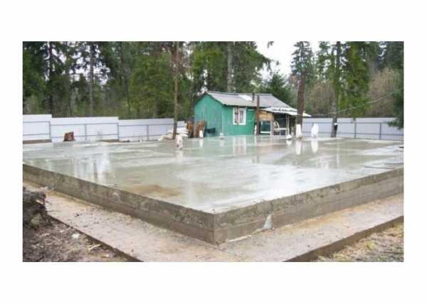 Укладка плит перекрытия на ленточный фундамент: этапы работ