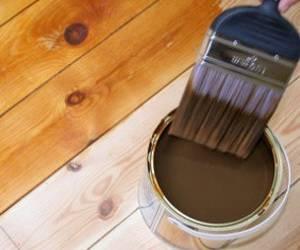 Покраска имитации бруса внутри помещения: особенности процесса
