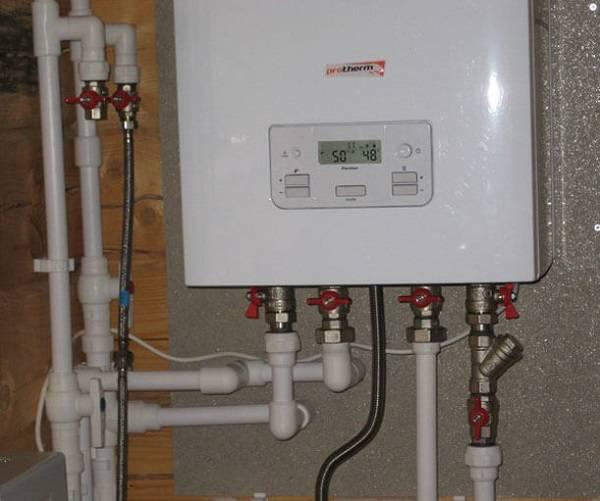 Каков принцип работы двухконтурного газового котла отопления + схема устройства расширительного бака