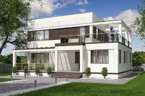 Одноэтажный дом с плоской крышей: особенности конструкции дома с пологой кровлей.