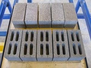 Вес керамзитобетонного блока 400х200х200 - таблица - построй дом сам